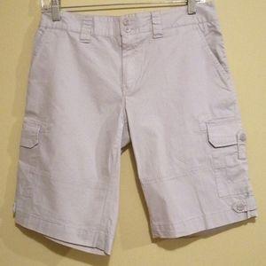Carribean Joe Island Supply Co Ladies Cargo Shorts
